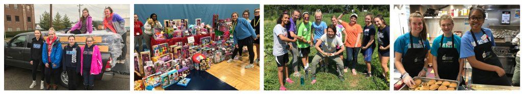 Community Service 2019-2020 - Mount Notre Dame High School